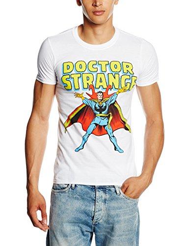 Marvel Doctor Strange-T-shirt  Uomo    bianco Medium