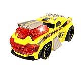 Dickie Toys 203765001 - Skullracer, motorisiertes Rennauto mit Wheeliefunktion, mit Licht- und Soundfunktion, 24cm