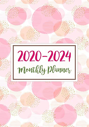 2020-2024 Monthly Planner: Five Years Monthly Calendar Planner (60 Months) For To Do List Journal Notebook | Academic Schedule Agenda Logbook Or ... & Monthly Calendar Planners Holidays, Band 7)