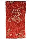 Roter Umschlag, Louzedaya traditioneller roter Umschlag für chinesisches neues Jahr-chinesische Hochzeits-Abschluss-Geburtstags-Baby-Geschenk-Taschengeld Lucky Hong Bao rotes Paket Lai See 17 x 9,4 cm (ROT MIT DRACHEN)