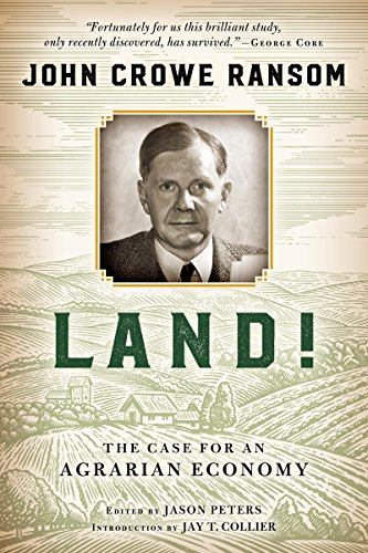Land!: The Case for an Agrarian Economy (English Edition) -