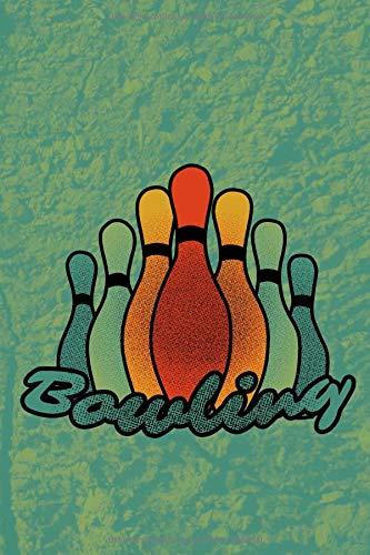Bowling: Notizbuch mit Punktraster I Softcover I 15,24 x 22,86cm (ca. A5) por Dot Grid Journale