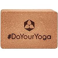 Preisvergleich für #DoYourYoga Yoga-Korkblock »Kinnari« / Yogaklotz aus 100% Natur-Kork/ideal zur Unterstützung spezieller Yoga-Übungen/Maße: 23 x 15 x 7,5 cm