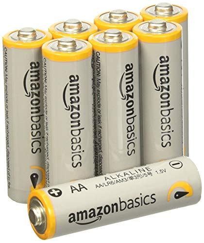 AmazonBasics Lot de 48 piles alcalines Type AA 1,5 V 2875 mAh (design variable)