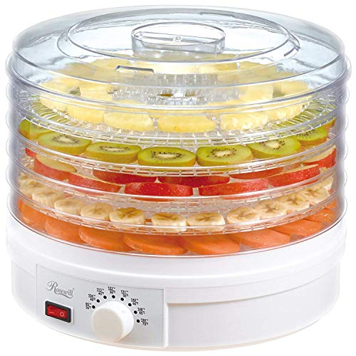 CBEX Plastic Electric Countertop Food Dehydrator, Preserver Jerky Maker (34x33x26,Transparent)