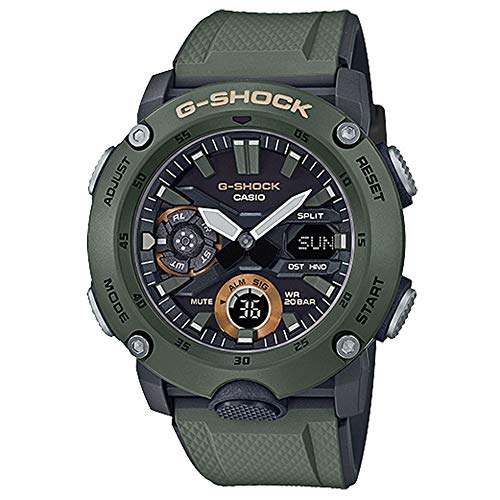 G-Shock By Casio Men's Analog-Digital GA2000-3A Watch Military Green (G-shock Military Watch)