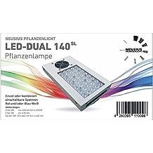 LED Pflanzenlampe DUAL 140SL Neusius Pflanzenlicht | 5 Band Lichtspektrum Pflanzenleuchte | Lichttechnik LED Grow Lampe Pflanzenzucht wachsen Wuchs Pflanzen-Beleuchtung Pflanzenwachstum Wachstumslampe