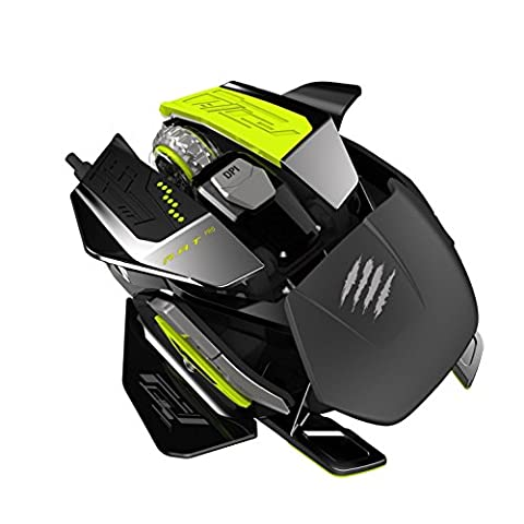 Mad Catz R.A.T. PRO X Gaming Mouse [PixArt ADNS-9800] -