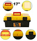 17 Inch Storage Tool Box Rectangle Plastic Boxes Container Blank Component Screw for home without tools organizer