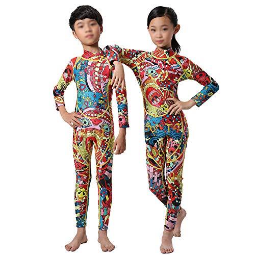 Tauch Anzug Kostüm - XULONG Kinder Tauchanzug 0,5 mm lang, Schwimmanzug für Kinder, Quallen Kleidung UV-Schutz, warm und umweltfreundlich, atmungsaktiv und langlebig,10#
