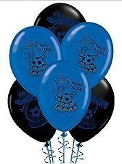 Idea Regalo - Palloncini Nero Azzurro Forza Inter Compleanno conf.20pz