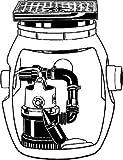 Jung Pumpen Baufix-Behälter JP09706 Pumpenschacht-Behälter 4037066097060