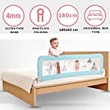 Baybee Bed Rail Guard for Baby Safety-Portable and Foldable Full Bed Rail