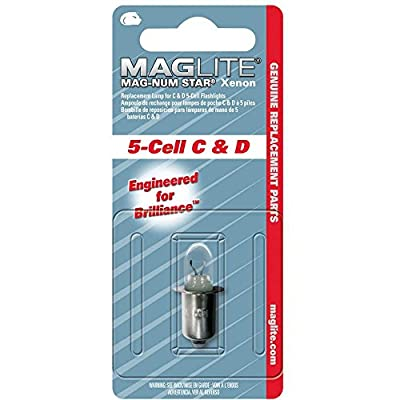 MagLite 5 Cell C & D Magnum Star Flashlight Torch Bulb Replacement von Maglite auf Outdoor Shop