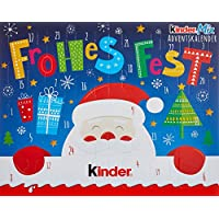 Kinder Mix Tisch-Adventskalender, (1 x 127 g)