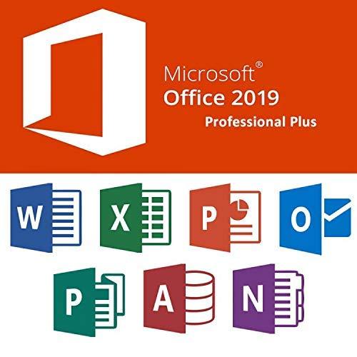 Microsoft Office 2019 Professional Plus pour 1PC ( seulement pour windows 10 ) | Licence numérique originale Envoyé dans un jour par E-mail