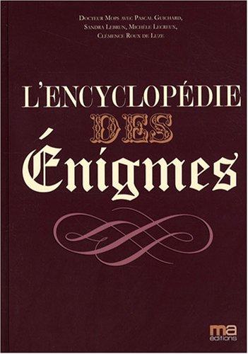 L'encyclopédie des énigmes par Collectif