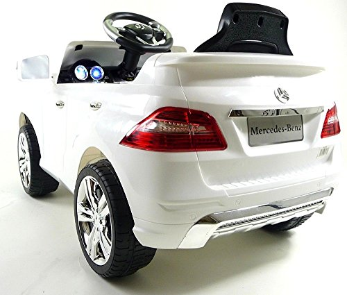 Image of Mercedes ML350 6V Electric Ride on Kids Car With Remote