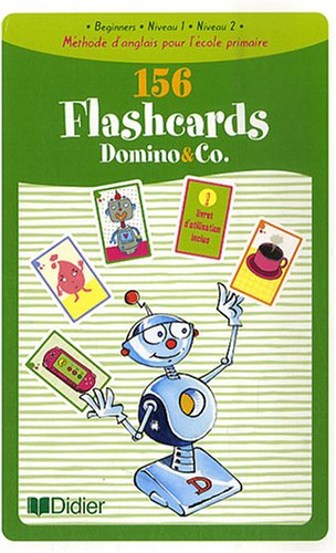 Domino and Co 156 Flashcards : Beginners, Niveau 1, Niveau 2