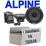 VW Touran - Lautsprecher hinten - Alpine SPG-17CS - 2 Wege System