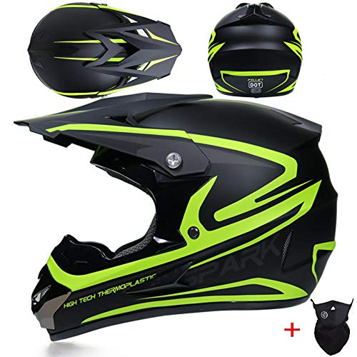 Toukui casco da moto per bambino fuoristrada adulto atv dirt bike downhill mtb casco da corsa casco da motocross@17_s