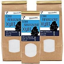 Kräuterladen Echter Birkenzucker Xylit, natürlicher Zuckerersatz ohne Mais aus Finnland (1 x 2500 g)