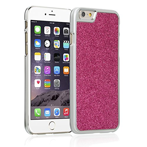 "Fosmon Apple iPhone 6 Plus Case (GLITTER) BLING Design Protective Back Snap on Case Cover für iPhone 6 Plus (5.5"") - Fosmon Retail Packaging (Gold) Rosa"