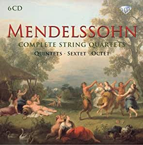 Mendelssohn: Sämtliche Streichquartette