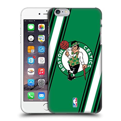Offizielle NBA Einfach Boston Celtics Ruckseite Hülle für Apple iPhone 6 / 6s Streifen