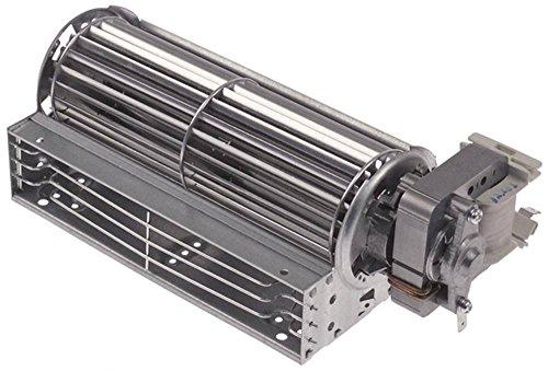 Querstromlüfter 27W Walze ø 60mm x 180mm Motor rechts 230V 50/60Hz (230v Motor)