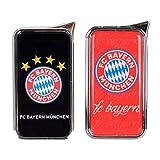 Mein Landhaus Feuerzeug FC Bayern München Atomic Doming - offizieller Lizenzartikel (2er Set rot und schwarz)