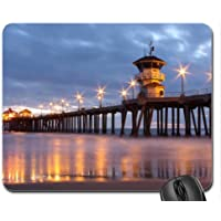 Huntington Beach Pier Mouse Pad, Mousepad (Beaches Mouse Pad)