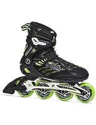 Fila Hombre Shadow 84 Inline Skate, hombre, SHADOW 84, negro/verde lima, 12.5
