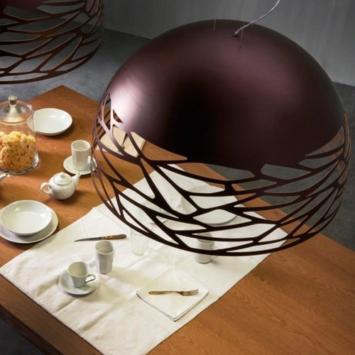 KELLY SOSPENSIONE SMALL DOME BRONZO RAMATO