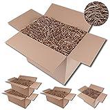 Bestlivings Füllmaterial Zum verpacken, Papp-Schredder 120 Liter