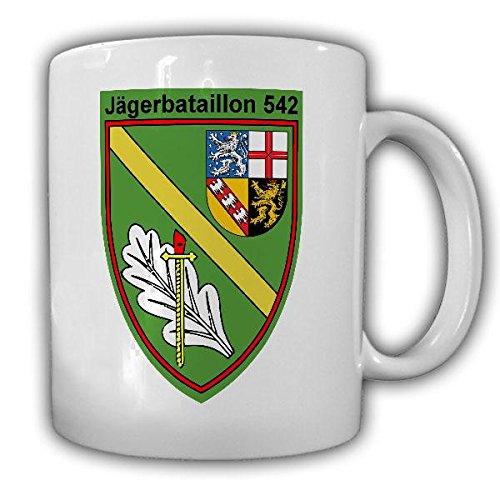 Tasse JgBtl 542 Jägerbataillon Bundeswehr Abzeichen Bexbach Jäger Bexbacher Kaffeebecher#21309