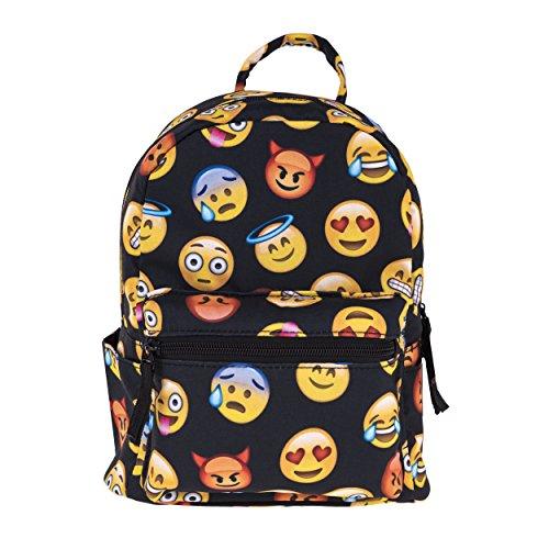 Imagen de fringoo   mujer niña multicolor emoji black  mini h24 x w20 x d11 cm