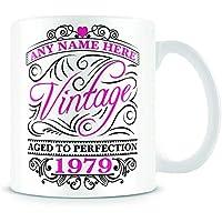 40th Birthday Mug for Women and Men - Vintage 1979-40th Birthday Gift