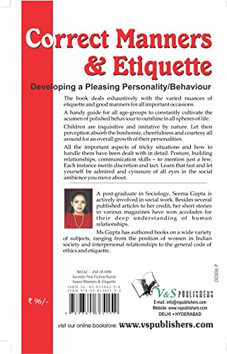 Correct Manners and Etiquette: A Quick Guide on Acceptable Manners and Etiquette