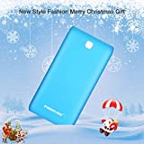 Poweradd Pilot X7 20,000mAh Portable Charger External Battery Power Bank for iPhone, iPad, iPod, Samsung, most other Phones and Tablets- Blue (Lightning cable is not included)