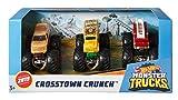 Hot Wheels - Monster Trucks Dueling Doubles, Modelos Surtidos 3, Pack de 3 Coches (Mattel GJY48)