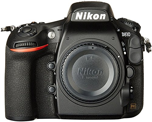 Nikon D810 FX 36.3MP Digital SLR Camera Body Only