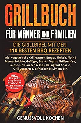 Grillbuch für Männer & Familien