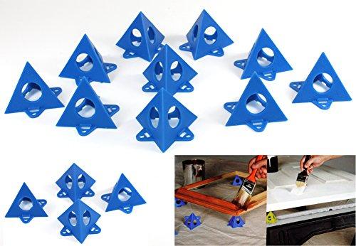 Maler Pyramiden -K&B Vertrieb- Ständer Malerpyramiden Antihaftpyramiden Malerbedarf Zubehör 813 (10 Stück)