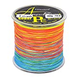 8 Strands Braided Fishing line 300m Multi Color Super Strong Japan Multifilament PE