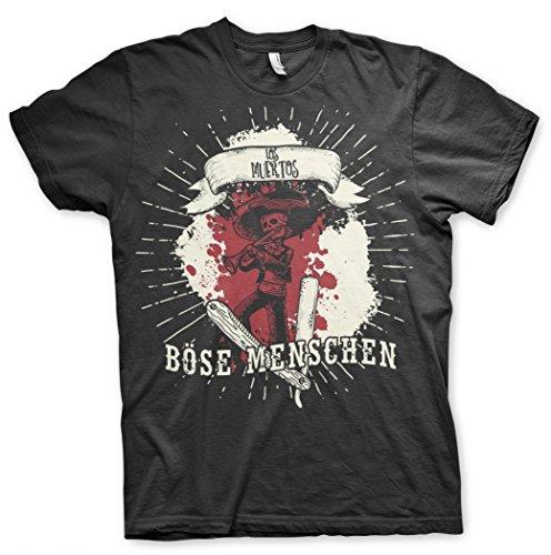 Böse Menschen - Los Muertos- T-shirt Schwarz