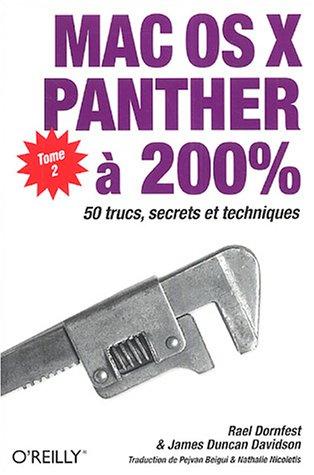 Mac OS X Panther à 200% : Tome 2