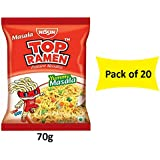Top Ramen Instant Noodles Yummy Masala, 70g (Pack Of 20)