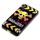 deinPhone Coque de protection en silicone rigide pour Nokia Lumia 630 Danger