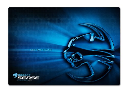 ROCCAT Sense 2mm High Precision Gaming Mauspad, chrome blue